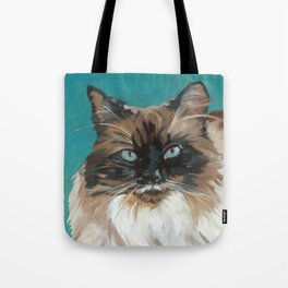 Tipper the Cat Portrait Tote Bag
