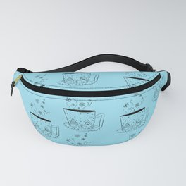 A cup of snow flakes Fanny Pack