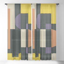 About Black 2 Sheer Curtain