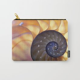 Macro Seashell Carry-All Pouch