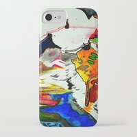 joy iPhone & iPod Cases featuring Joy by Aaron Carberry