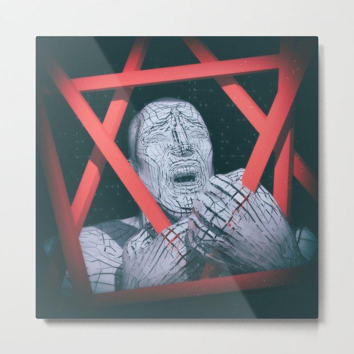 Post Modern Trappings Metal Print