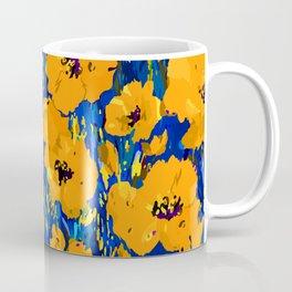 Wild Poppies — Orange Coffee Mug