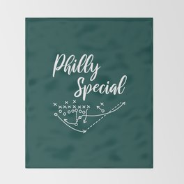 Philly Special Throw Blanket