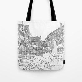 promenade en Alsace Tote Bag