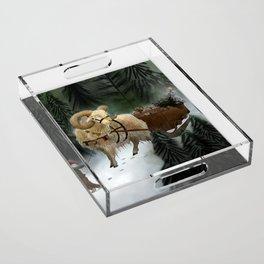 julebukk Acrylic Tray