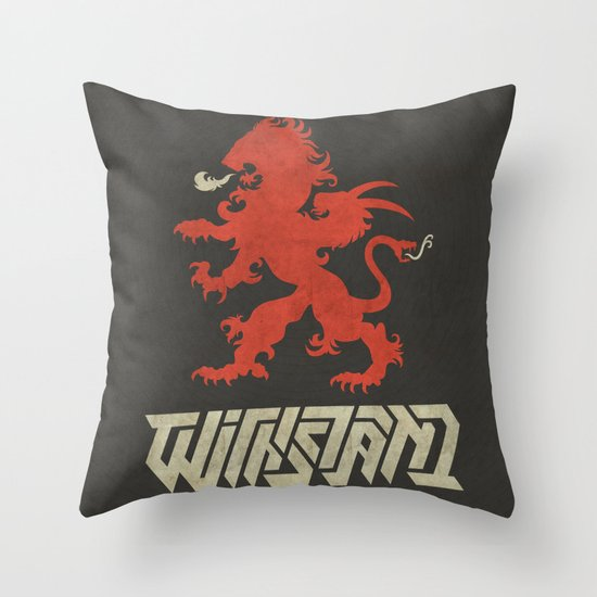 Withstand Throw Pillow