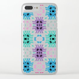 Southwest Summer Bold Clear iPhone Case
