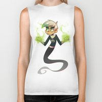 danny haas Biker Tanks featuring Danny Phantom by lemonteaflower