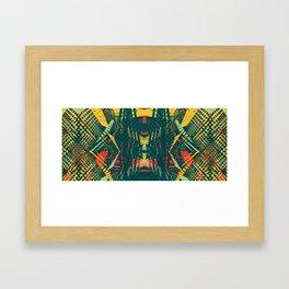 War Path Framed Art Print