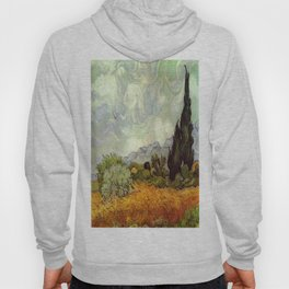 Vincent van Gogh's Wheat Field with Cypresses Hoody