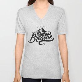 JUST BREATHE Unisex V-Neck