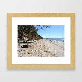 Beach I Framed Art Print