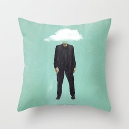 Head in the Cloud Throw Pillow