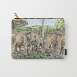 Rescued in Thailand Carry-All Pouch
