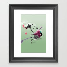 ILOVEMUSIC #3 Framed Art Print