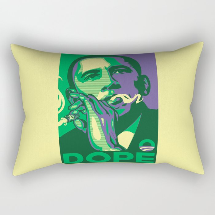 the dopest president Rectangular Pillow
