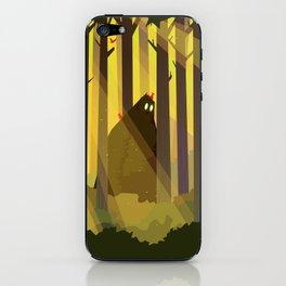 Sasquatch iPhone Skin