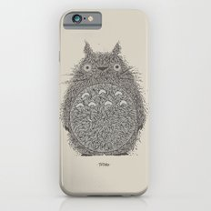 Cream Totoro Slim Case iPhone 6s