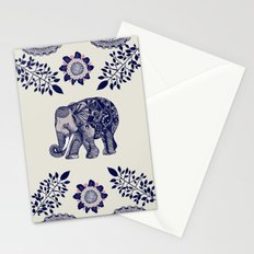 Elephant Pink Stationery Cards