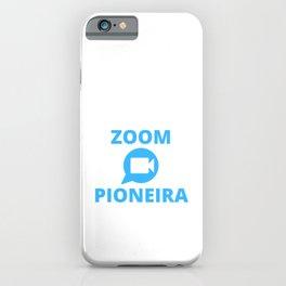 PIONEIRA iPhone Case