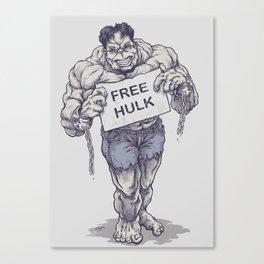 Free Hulk Canvas Print