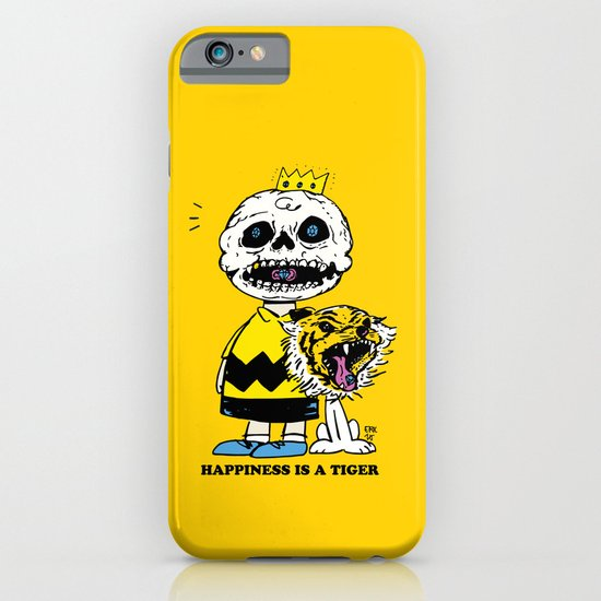 Happiness Is A Tiger iPhone & iPod Case
