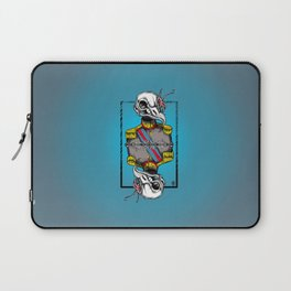 General Bird Skull Laptop Sleeve