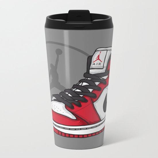 Jordan 1 OG (Chicago) Metal Travel Mug