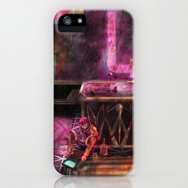 Mourning iPhone Case