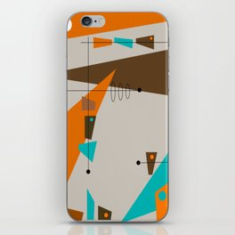 Mid-Century Rectangles Abstract iPhone Skin