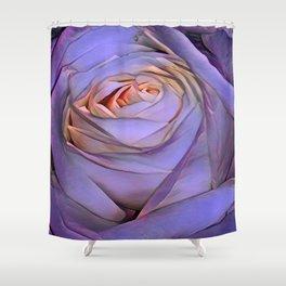 Violet rose Shower Curtain
