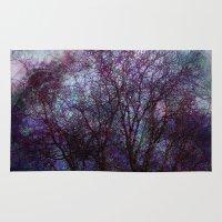 artsy Area & Throw Rugs featuring artsy tree by Stephanie Koehl