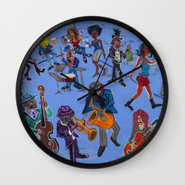 The Blue Room Wall Clock