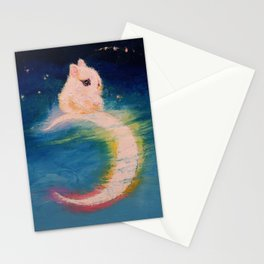 Moon Bunny Stationery Cards