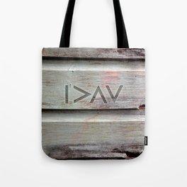 I>ΛV Tote Bag