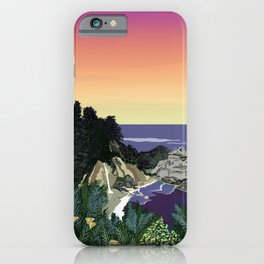 MCWAY FALLS SUNSET iPhone Case