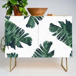 Banana Leaf Watercolor #society6 #buy #decor Credenza