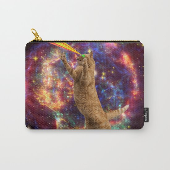 CAT SPACE  Carry-All Pouch