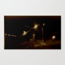 Lost in Some City No. 9 Canvas Print
