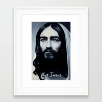 actor Framed Art Prints featuring ACTOR! by Rob Delves