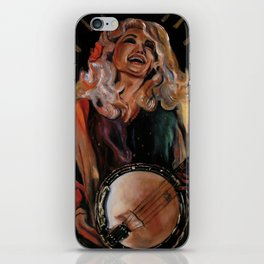 The Ecstasy of Dolly Parton iPhone Skin