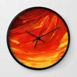 Lapeda Textile Art - 21 Wall Clock