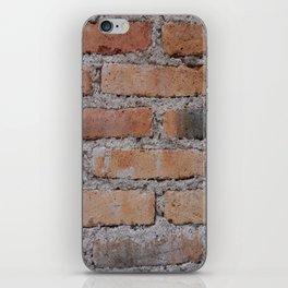 Aged Brick Wall rustic decor iPhone Skin