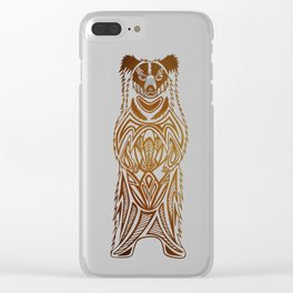 Sloth The Sloth Bear Clear iPhone Case