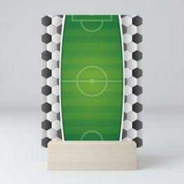 Soccer Football Field Mini Art Print