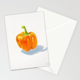 Bell Pepper  Stationery Cards