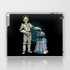 Cyber3PO and R2Dalek Laptop & iPad Skin