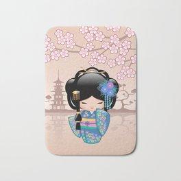 Japanese Keiko Kokeshi Doll Bath Mat