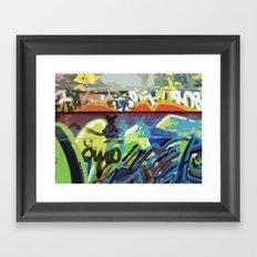 Graffiti, Paris Framed Art Print